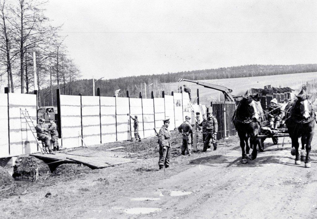 die Mauer in Mödlareuth